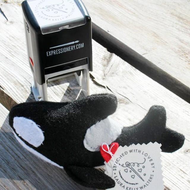 Meet Drifter my little felt orca that I sewed uphellip