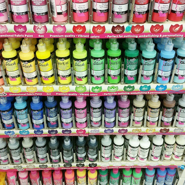 Paint! Colors! Happy! @ilovetocreate #tulippaint
