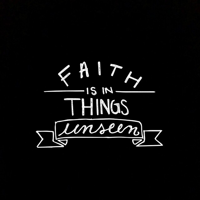 So thankful for my faith. There is so much that…