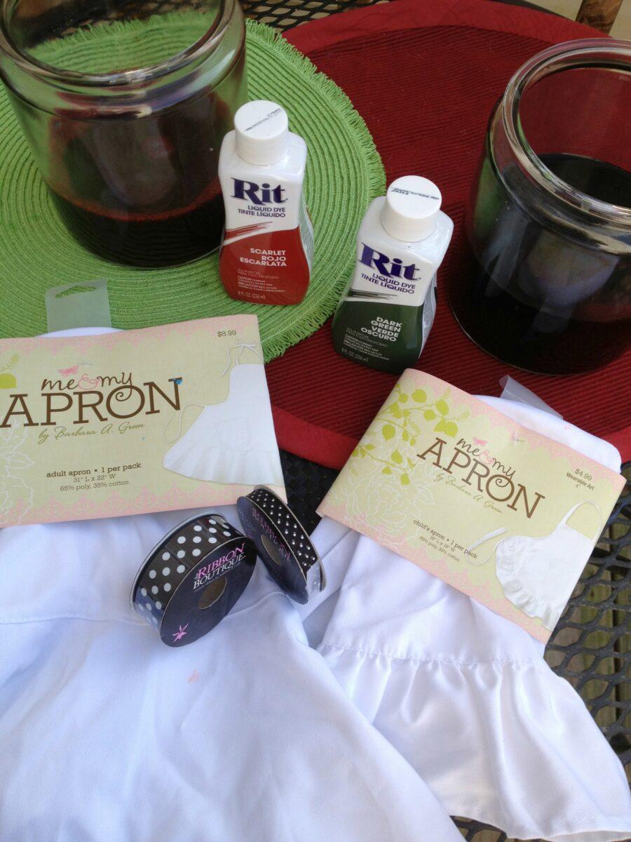 White apron hobby lobby - I