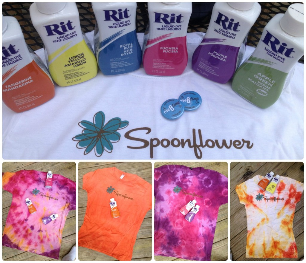 rit dye meets spoonflower for an exciting cre8time event