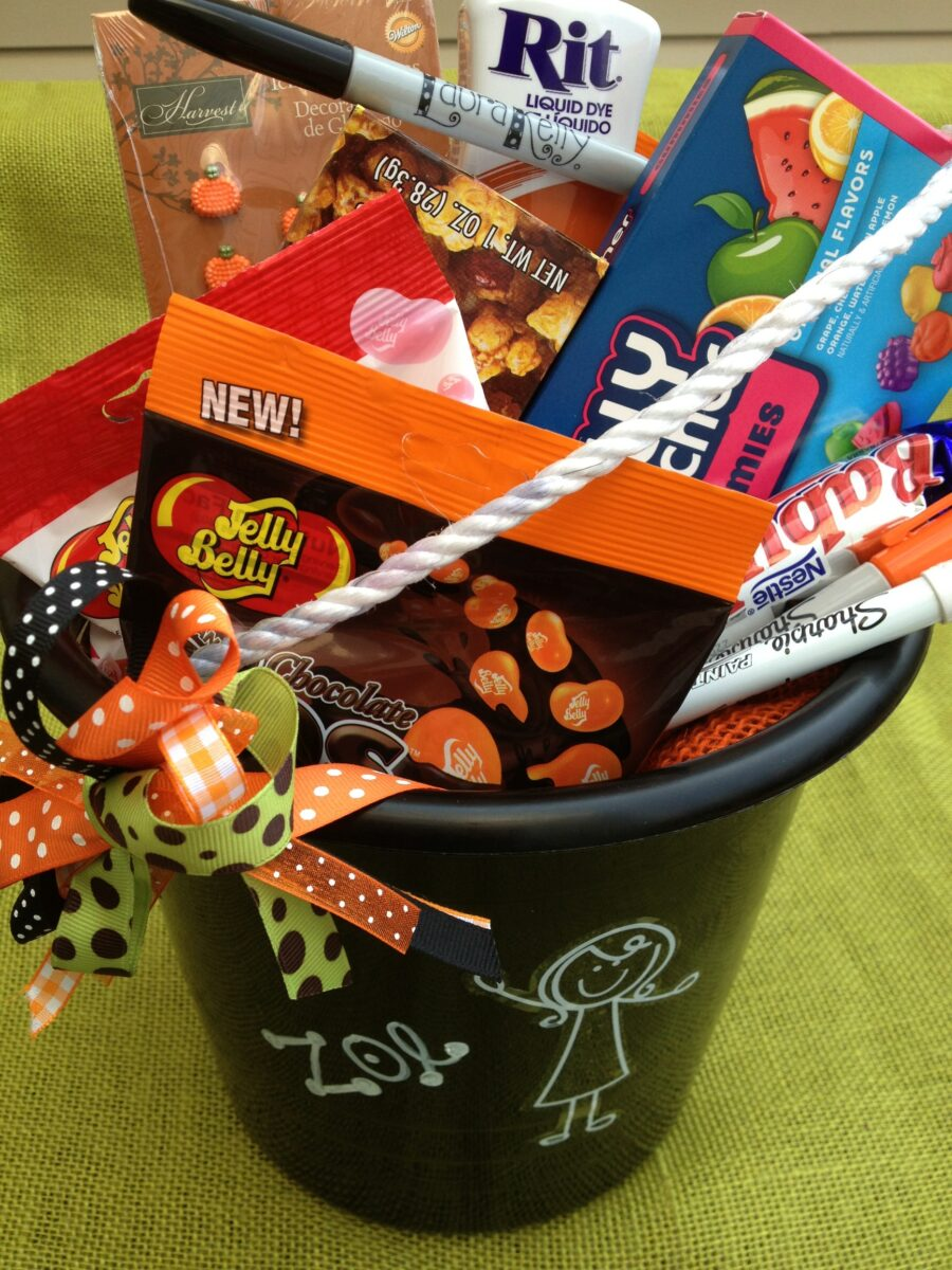 Me and My Peeps Halloween Trick-Or-Treat Bucket