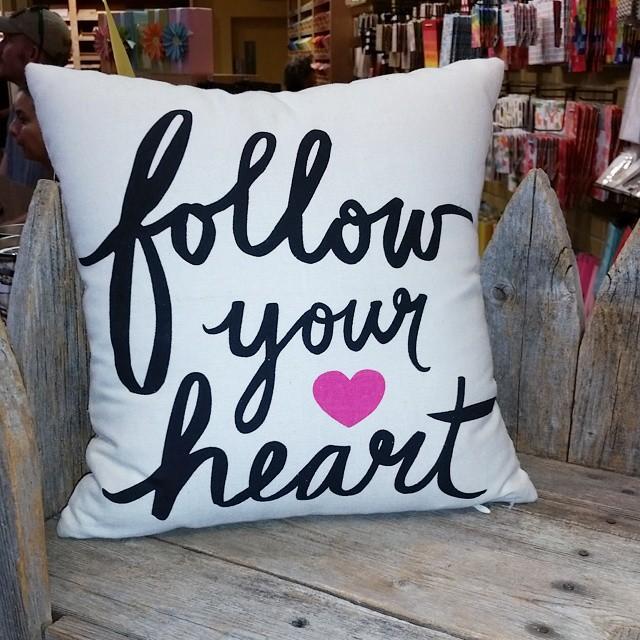 This pillow! followyourheart throwpillow