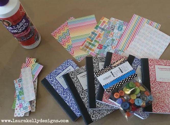 Mini Friendship Notebooks