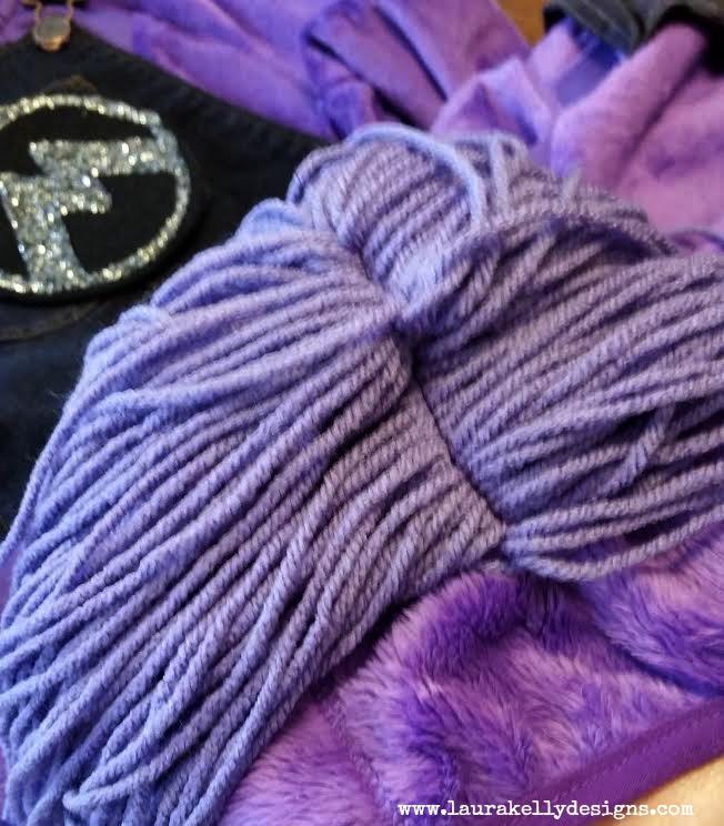 how to make purple minion hair