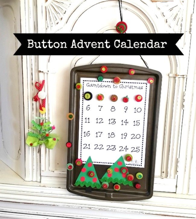 Advent Calendar Printable Make at Home