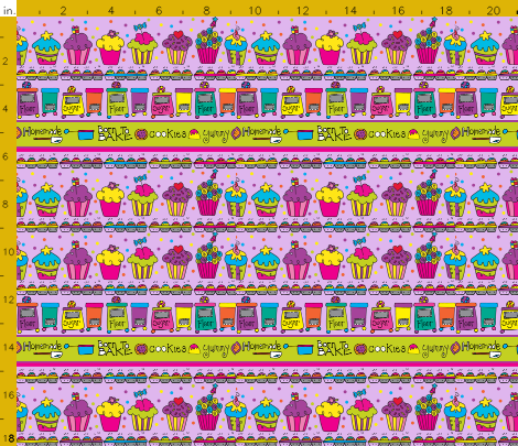 laura kelly baking dream fabric spoonflower