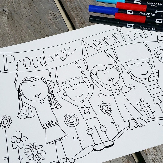 Happy Memorial Day! The coloring sheet is free on my…