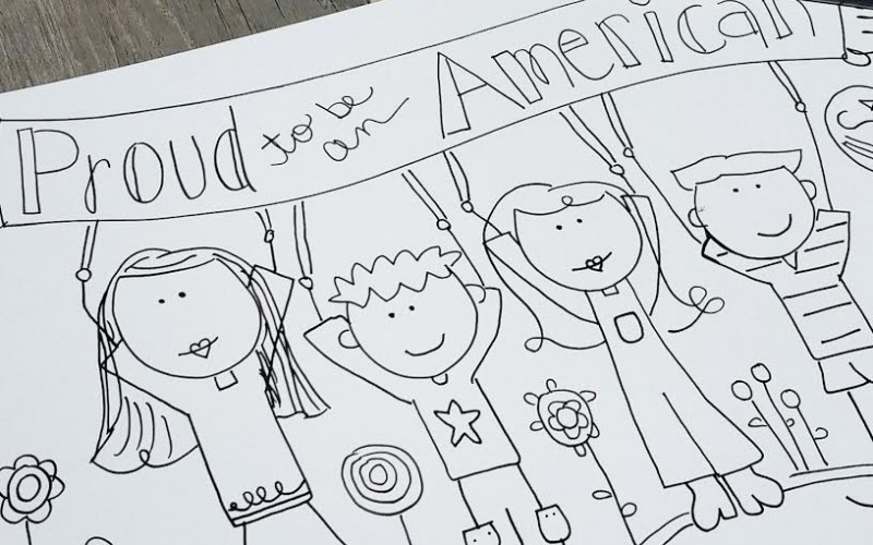 Proud to Be an American Printable