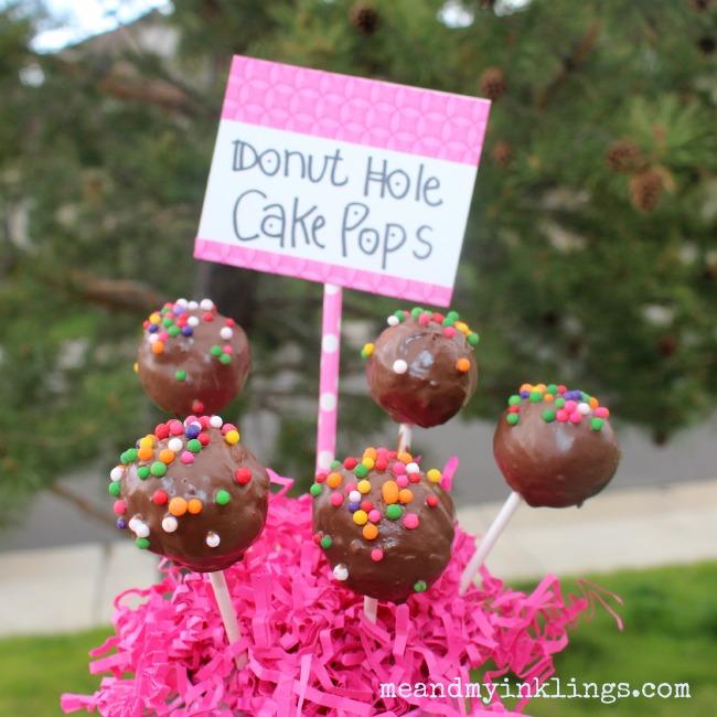 Cake Pops Dunkin Donuts