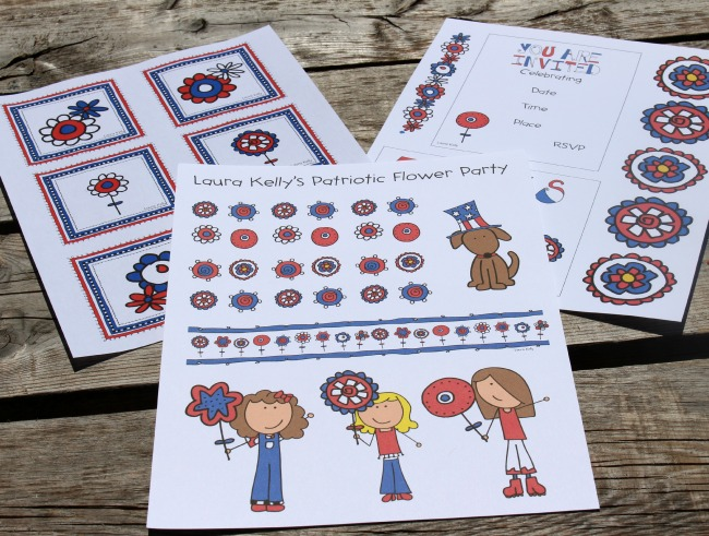 Patriotic Printable 3 Pages