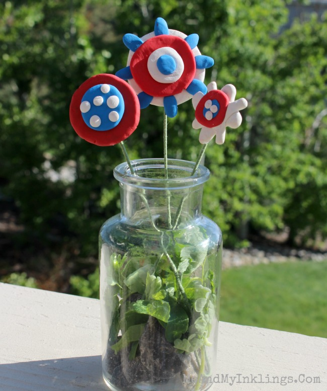 PatrioticFlowerVase