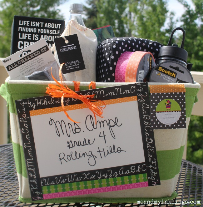 Teacher Basket ScotchProducts Expressionery