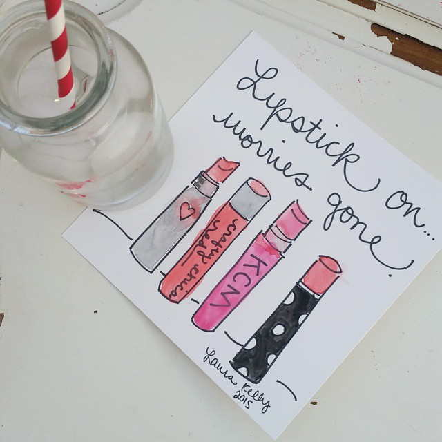 In honor of nationallipstickday I nominate craftychica as the besthellip
