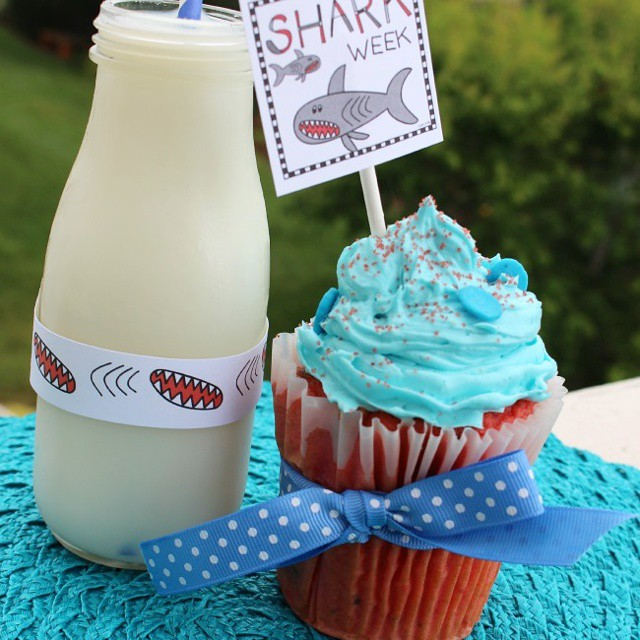 Happy Shark Week The TALL muffincupcake pan from wiltoncakes makeshellip