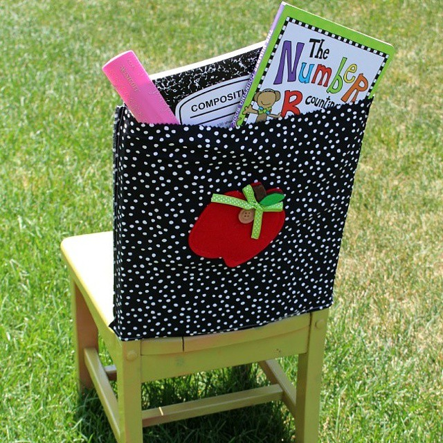 Create chair pockets for the classroom with my apple diehellip