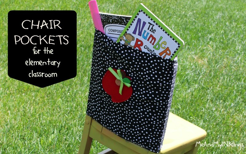 Chair Pockets for the Elementary Classroom