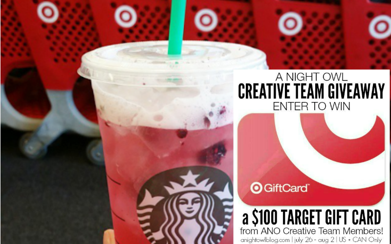 A Night Owl Blog Creative Team Target Giveaway