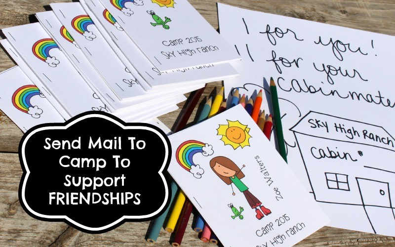 Summer Camp Mail To Support New Friendships