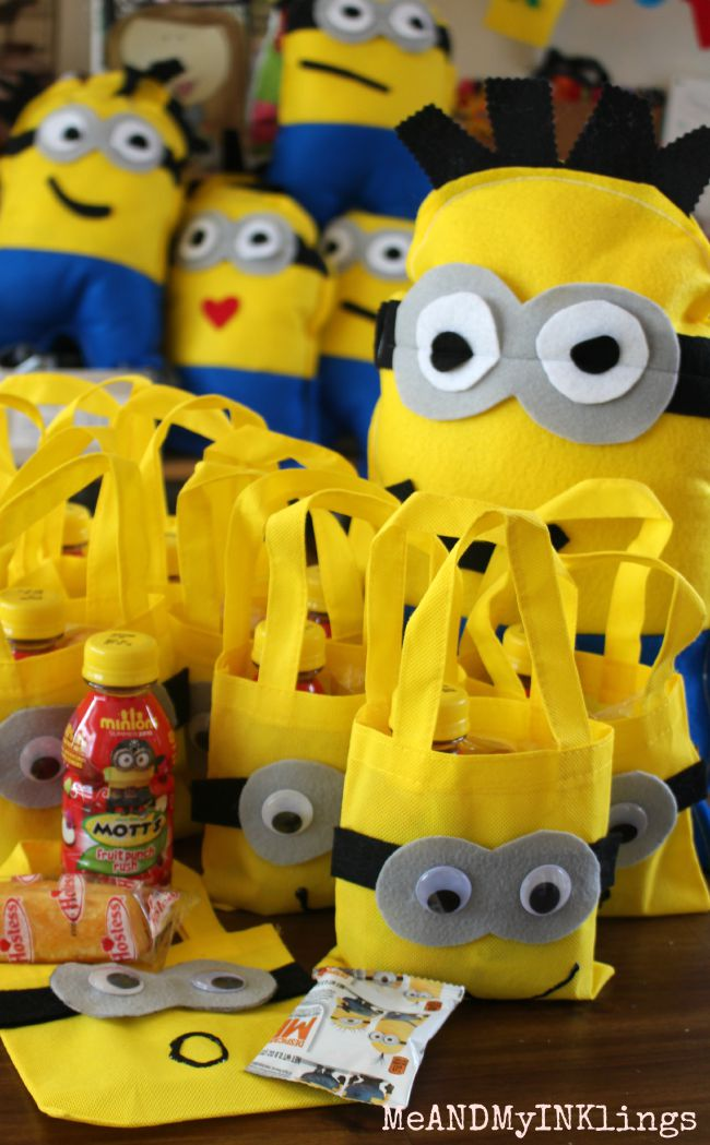 Minion Snack Bags