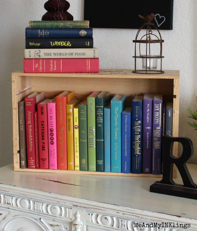 Books Rainbow