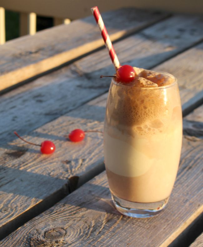 Cherry Coke Floats