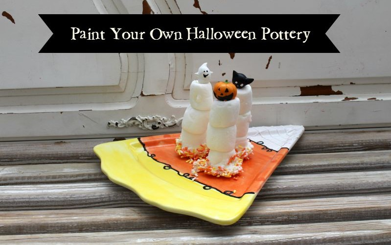 Paint Your Own Pottery (aka PYOP) Halloween Ideas