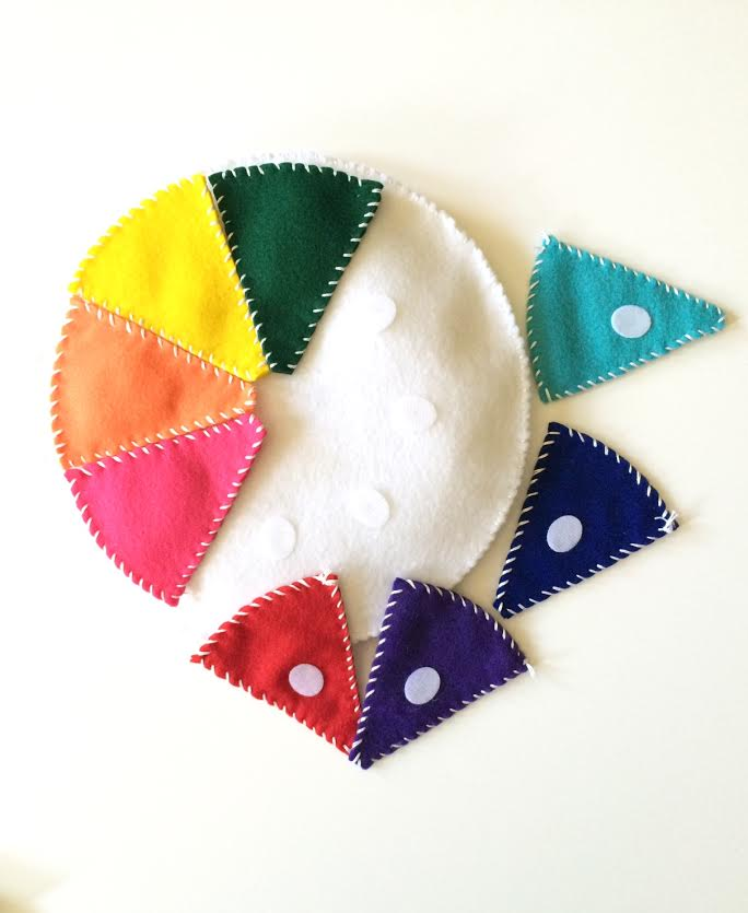 ColorWheel Pieces