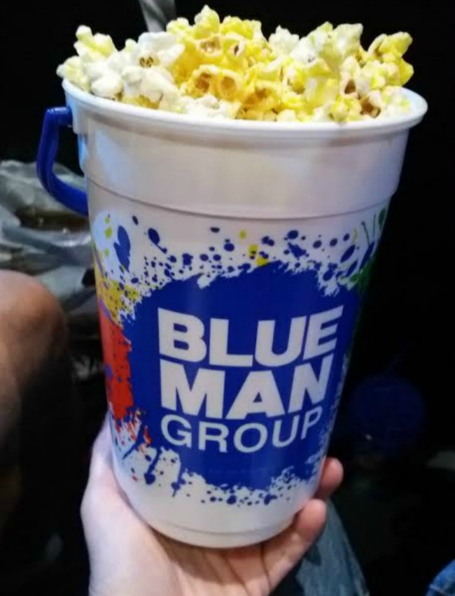 Blue Man Popcorn