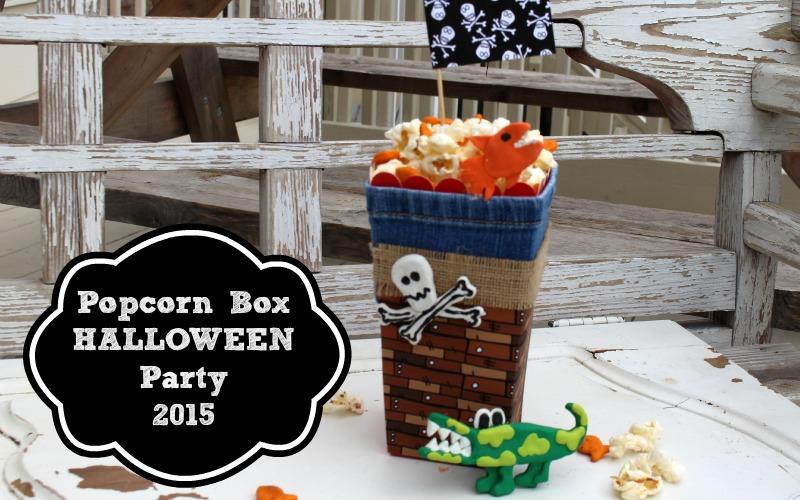 Popcorn Box Halloween Party 2015