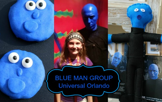 Blue Man Group Craft Printable Projects