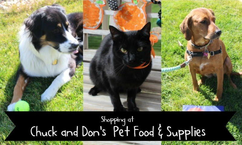 Shopping at Chuck & Don's for your Fluffy Pets