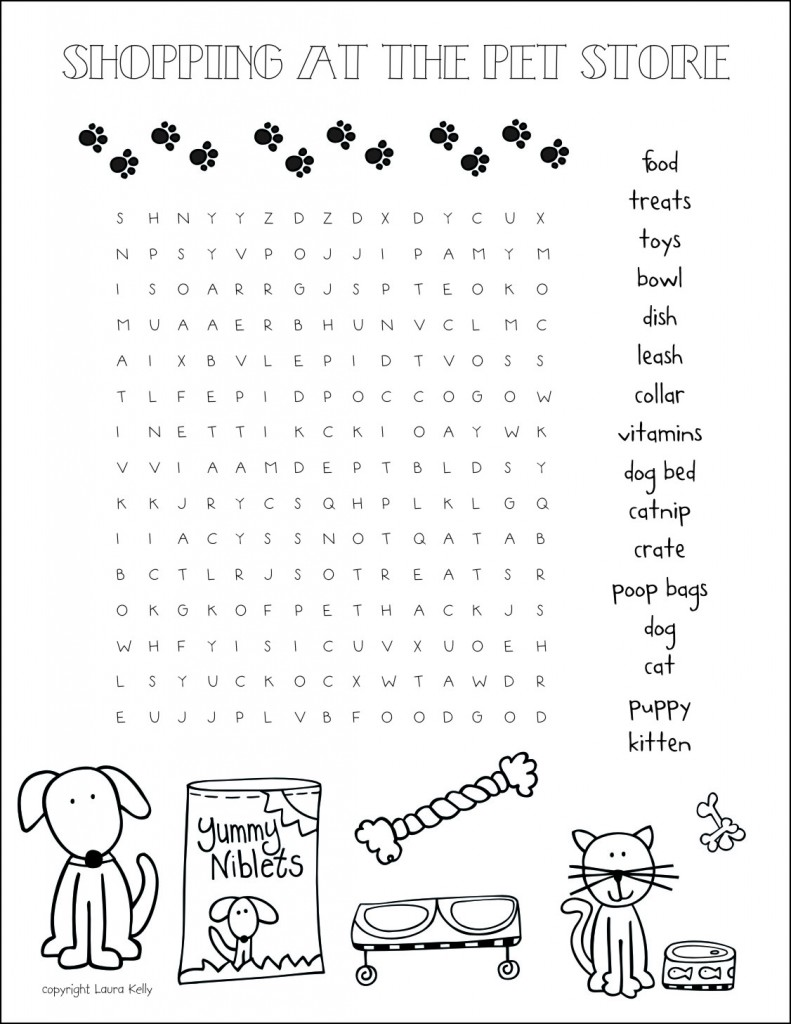 Pet-Store-Word-Search