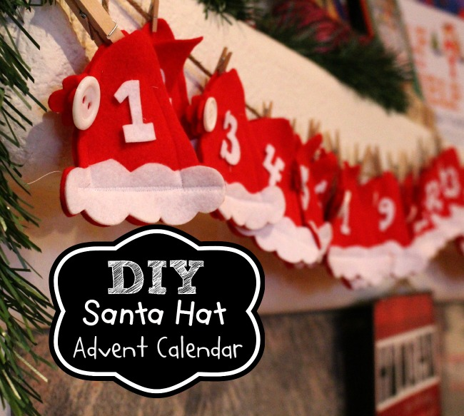 DIY-Santa-Hat-Advent-Calendar