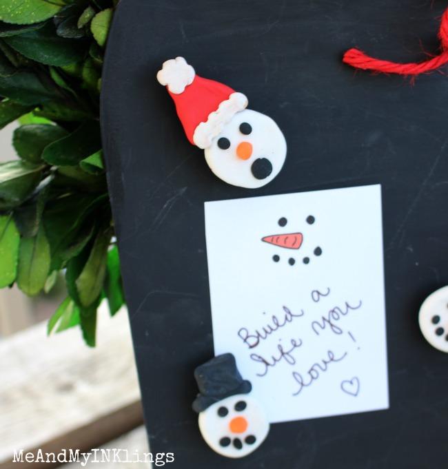 Snowman-Magnet