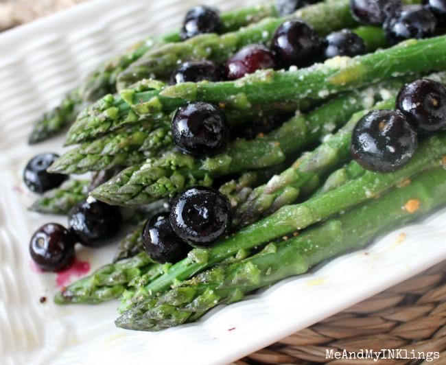 Blueberry_Asparagus_Baked