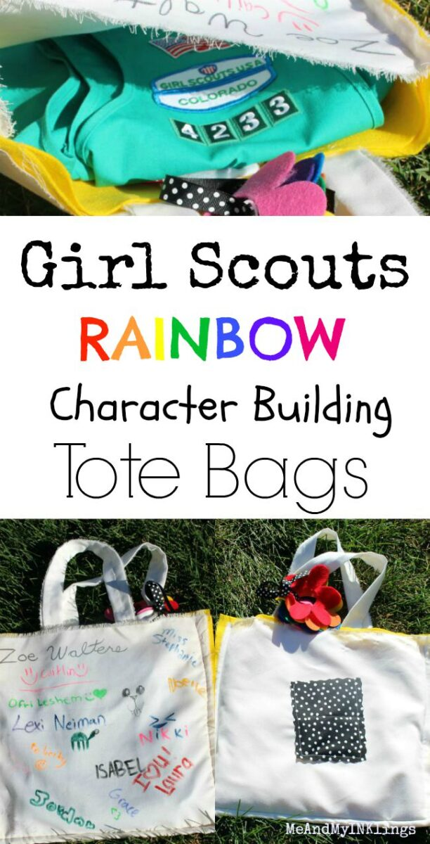 Girl Scouts Character Building Tote Bags