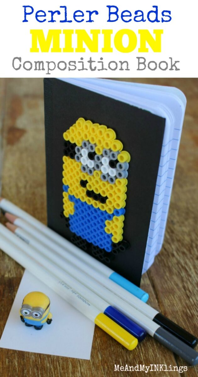 Perler-Beads-Minion-Notebook