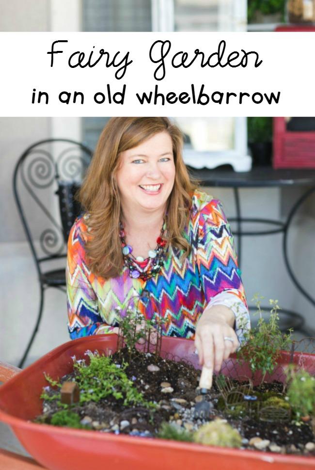 Wheelbarrow-Garden