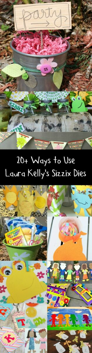 20 Laura Kelly for Sizzix Projects and Ideas