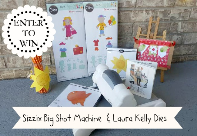 Enter to Win Sizzix Big Shot and Laura Kelly Dies