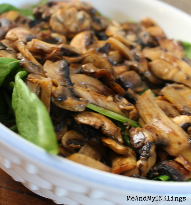 Mushrooms Pasta