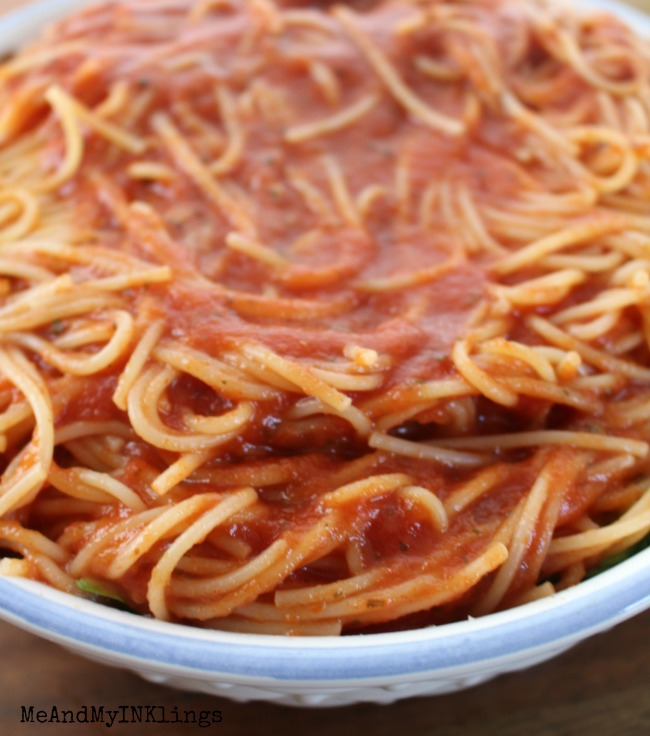 Pasta and Sauce Spaghetti Supreme