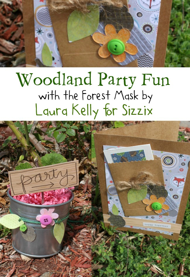 Sizzix Forest Mask Party Ideas