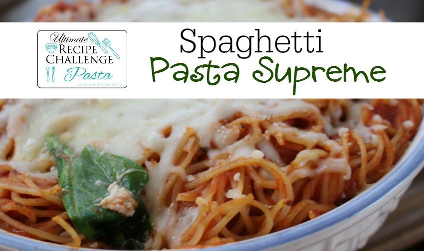 Spaghetti Pasta Supreme