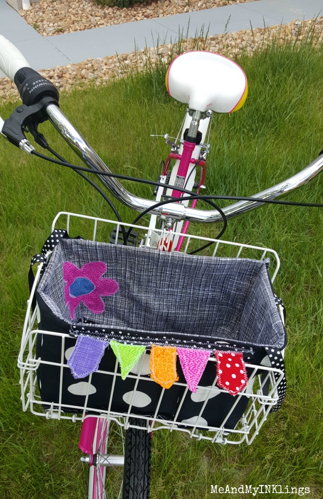 Bike Basket Handmade Front
