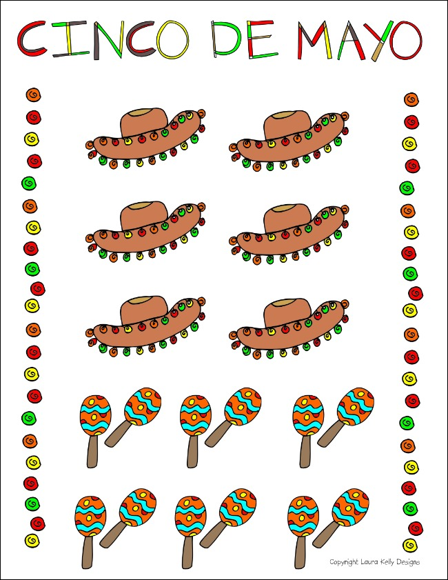 Cinco De Mayo Printable by Laura Kelly