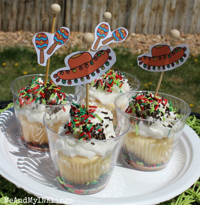 Cinco De Mayo Printable for Parties by Laura Kelly Cupcakes