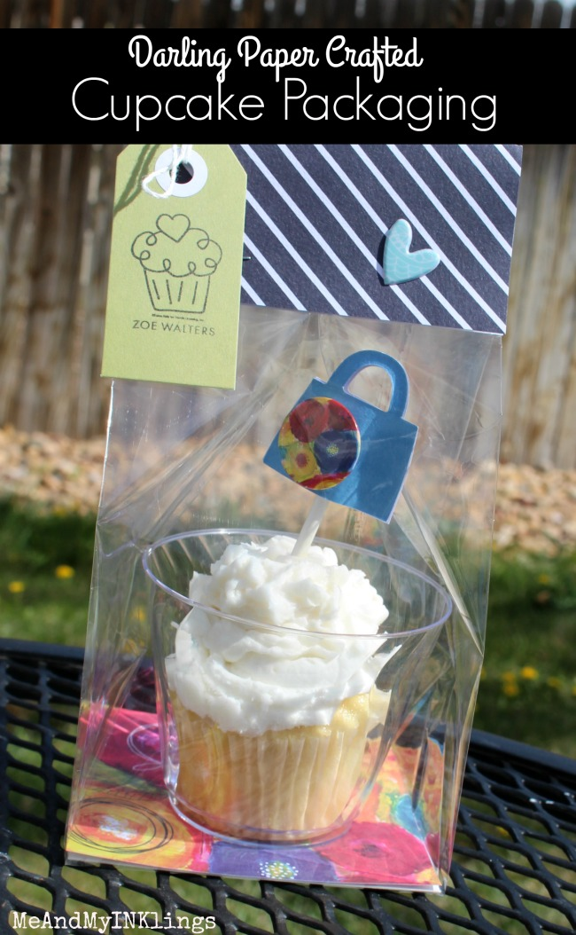 Darling Paper Crafted Cupcake Packaging