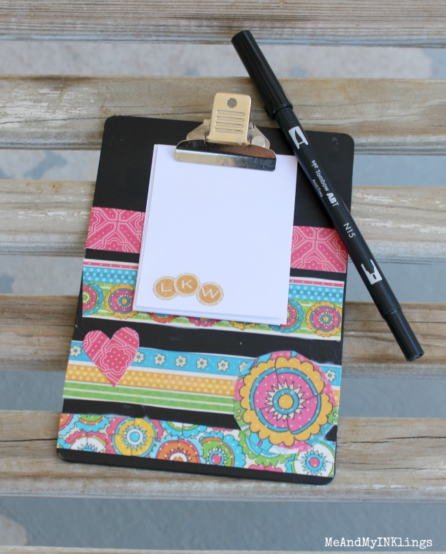 Graphic 45 Bohemian Bazaar Clipboard with Mod Podge